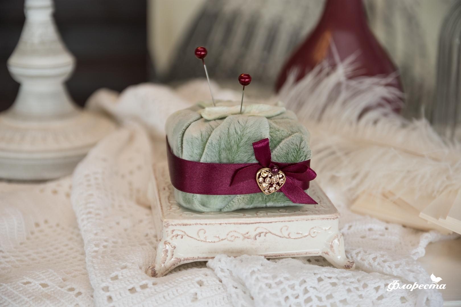 Декорация за сватбени халки