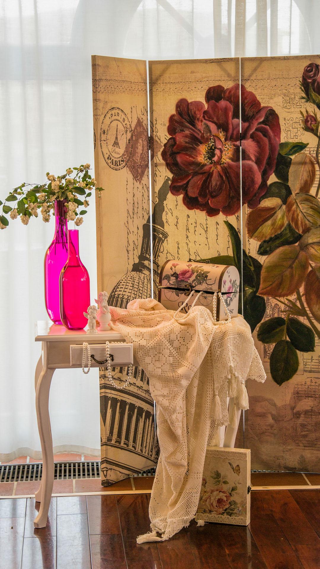 Винтидж декорация за сватбено тържество
